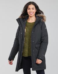 Textiel Dames Parka jassen Columbia LITTLE SI INSULATED PARKA Zwart