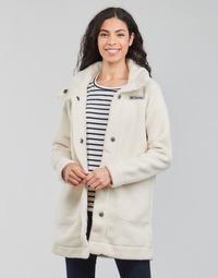 Textiel Dames Mantel jassen Columbia PANORAMA LONG JACKET Wit