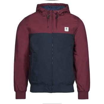 Textiel Heren Wind jackets Element DULCEY TWO TONES Bordeaux