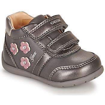 Schoenen Meisjes Lage sneakers Geox ELTHAN Grijs