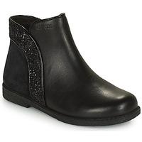 Schoenen Meisjes Laarzen Geox SHAWNTEL Zwart