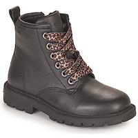 Schoenen Meisjes Laarzen Geox SHAYLAX Zwart