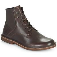 Schoenen Dames Laarzen Kickers TITI Brown