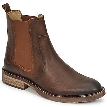 Schoenen Dames Laarzen Kickers ALPHASEA  camel