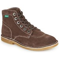 Schoenen Dames Laarzen Kickers ORILEGEND Brown