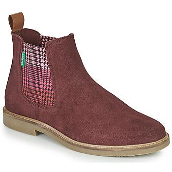 Schoenen Dames Laarzen Kickers TYGA Bordeaux