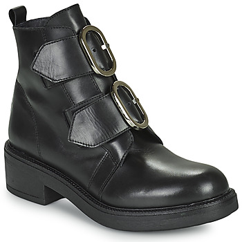Schoenen Dames Enkellaarzen Myma TELLA Zwart