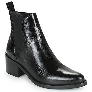 Schoenen Dames Enkellaarzen Myma TILIAN Zwart