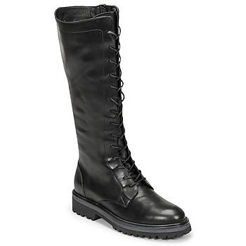 Schoenen Dames Hoge laarzen Myma TATANI Zwart