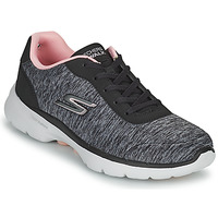 Schoenen Dames Lage sneakers Skechers GO WALK 6 Grijs / Roze