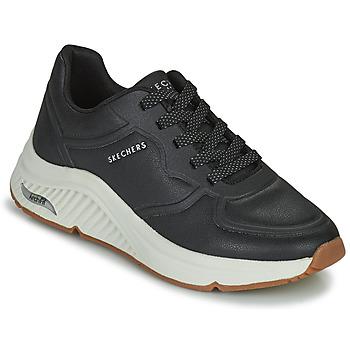 Schoenen Dames Lage sneakers Skechers ARCH FIT S-MILES Zwart