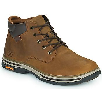 Schoenen Heren Laarzen Skechers SEGMENT 2.0 Brown