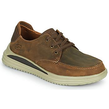 Schoenen Heren Lage sneakers Skechers PROVEN Brown
