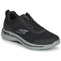 Schoenen Heren Lage sneakers Skechers GO WALK ARCH FIT Zwart