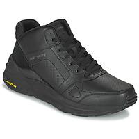 Schoenen Heren Hoge sneakers Skechers GLOBAL JOGGER Zwart