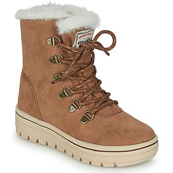 Schoenen Meisjes Laarzen Skechers STREET CLEATS 2 Brown