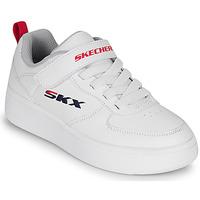 Schoenen Kinderen Lage sneakers Skechers SPORT COURT 92 Wit