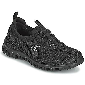 Schoenen Dames Lage sneakers Skechers GLIDE-STEP Zwart