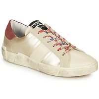 Schoenen Dames Lage sneakers Meline NKC1381 Wit / Bloemen