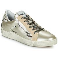 Schoenen Dames Lage sneakers Meline NK139 Goud / Python