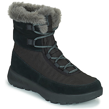 Schoenen Dames Snowboots Columbia SLOPESIDE PEAK LUXE Zwart