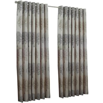 Wonen Gordijnen, vitrages, jaloezieën Riva Home Taille 6: 229 x 137cm Zilver