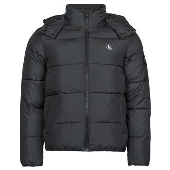 Textiel Heren Dons gevoerde jassen Calvin Klein Jeans ESSENTIALS NON DOWN JACKET Zwart