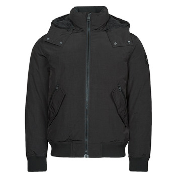 Textiel Heren Parka jassen Calvin Klein Jeans SHERPA LINED SHORT JACKET Zwart
