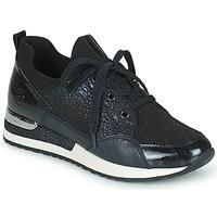 Schoenen Dames Lage sneakers Remonte Dorndorf ANITAS Zwart / Wit