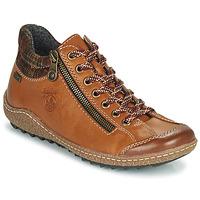 Schoenen Dames Laarzen Rieker KAMELO Brown
