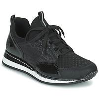 Schoenen Dames Lage sneakers Rieker REGARDA Zwart