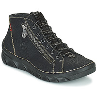 Schoenen Dames Laarzen Rieker MEMOIRA Zwart