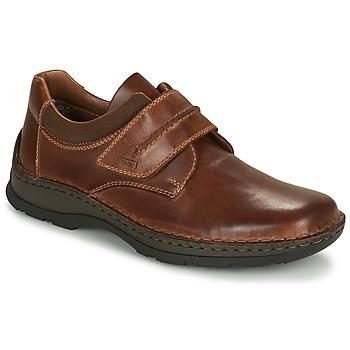 Schoenen Heren Derby Rieker EARNA Brown