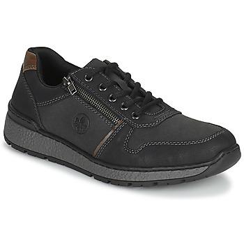 Schoenen Heren Derby Rieker FOLLON Zwart
