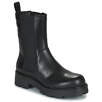 Schoenen Dames Laarzen Vagabond Shoemakers COSMO 2.1 Zwart