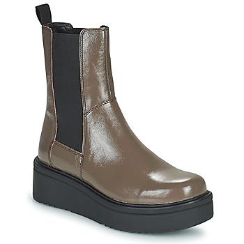 Schoenen Dames Laarzen Vagabond Shoemakers TARA Brown / Clair