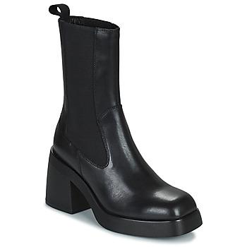 Schoenen Dames Enkellaarzen Vagabond Shoemakers BROOKE Zwart