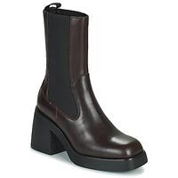 Schoenen Dames Enkellaarzen Vagabond Shoemakers BROOKE Brown