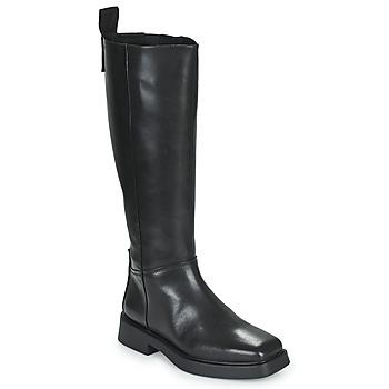 Schoenen Dames Hoge laarzen Vagabond Shoemakers JILLIAN Zwart