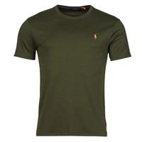 Textiel Heren T-shirts korte mouwen Polo Ralph Lauren TEKAMO Kaki