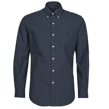 Textiel Heren Overhemden lange mouwen Polo Ralph Lauren RENIMA Groen / Blauw