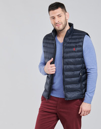 Textiel Heren Dons gevoerde jassen Polo Ralph Lauren PEROLINA Marine
