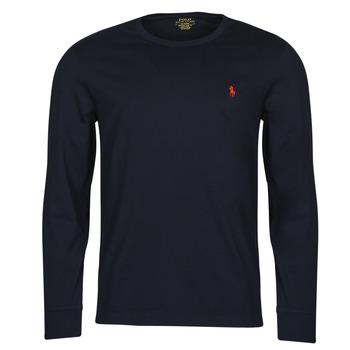 Textiel Heren T-shirts met lange mouwen Polo Ralph Lauren DRENNI Marine