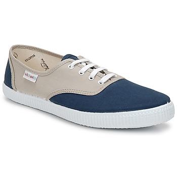 Schoenen Lage sneakers Victoria INGLESA BICOLOR Beige / Petrol