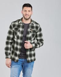 Textiel Heren Wind jackets Superdry Wool Miller Overshirt Zwart