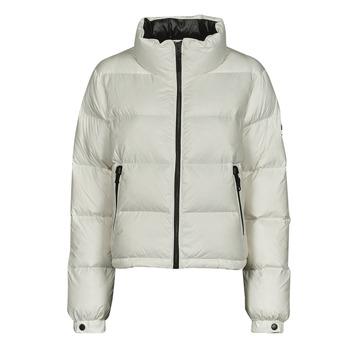 Textiel Dames Dons gevoerde jassen Superdry ALPINE LUXE DOWN JACKET Wit