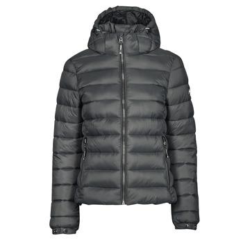 Textiel Dames Dons gevoerde jassen Superdry CLASSIC FUJI PUFFER JACKET Grijs