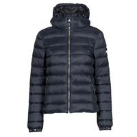 Textiel Dames Dons gevoerde jassen Superdry CLASSIC FUJI PUFFER JACKET Blauw