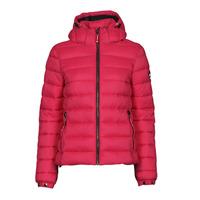 Textiel Dames Dons gevoerde jassen Superdry CLASSIC FUJI PUFFER JACKET Roze
