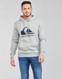 Textiel Heren Sweaters / Sweatshirts Quiksilver BIG LOGO HOOD Grijs